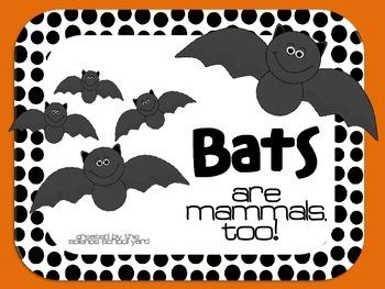 Bats: Bats Are Mammals, Too!
