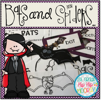 Bats and Spiders...Informational Text, Activities, Crafts