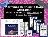 Bats & Birds Activities to Compare - Great Literacy Companion for Stellaluna