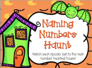 Bats, Boos, and Halloween Frights- Number Sense and mClass Math Center