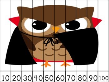 Bats Cats and Owls Oh My! Number Puzzles