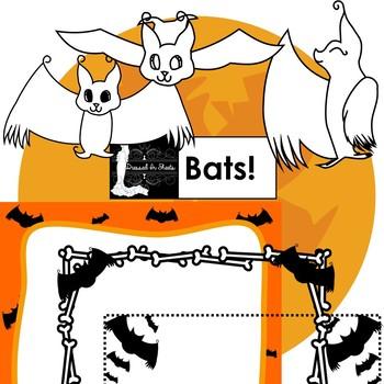 Bats! Clip Art