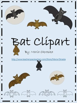 Bats Clipart (Life Cycle)