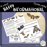 Bats Close Reading , Informational text & Key Ideas Distance Learning