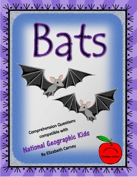 Bats / Compatible with National Geographic Kids