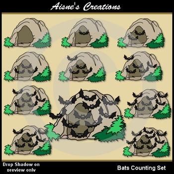 Bats Counting Set