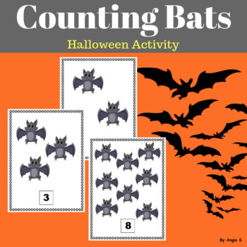 Bats Counting for Halloween