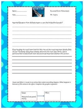 """""""Bats Did It First"""" 3rd Grade Reading Wonders Unit Three"""