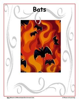Bats - Differentiated Blooms Enrichment Unit