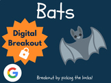 Bats - Digital Breakout! (Escape Room, Scavenger Hunt, Stellaluna)