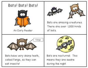 Bats Early Reader