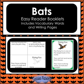 Bats Non Fiction Mini Books