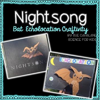 Bats & Echolocation Craftivity, Nightsong book companion