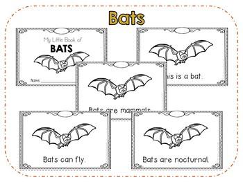 Bats Emergent Reader