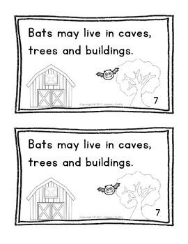 Bats! | Emergent Reader