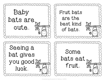 Bats Fact and Opinion Scoot