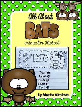 Bats Facts Flipbook and Sight Word Game