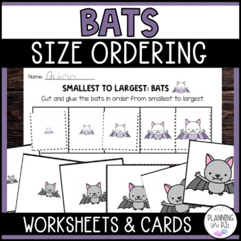 Bats Size Ordering (From Smallest to Largest)
