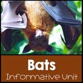 All About Bats Nonfiction Informational Text Unit