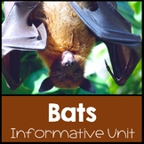 Bats Nonfiction Informational Text Unit