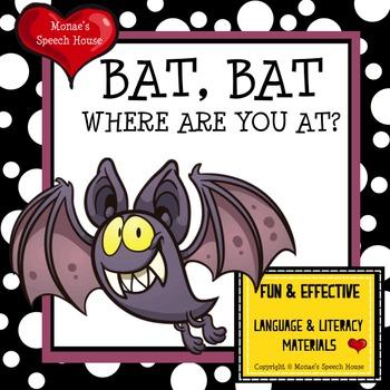 Bats Halloween Spatial Concepts