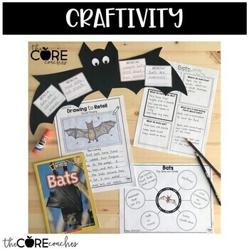 Bats: Informational Interactive Read-Aloud Lesson Plans and Activities