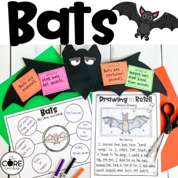 Bats-Informational Read Aloud, Lesson Plans and Activities