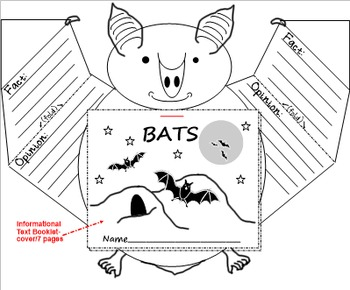 Bats: Informational Text and Fact Or Opinion Sort PDF