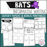 Bats Informative Writing Reports