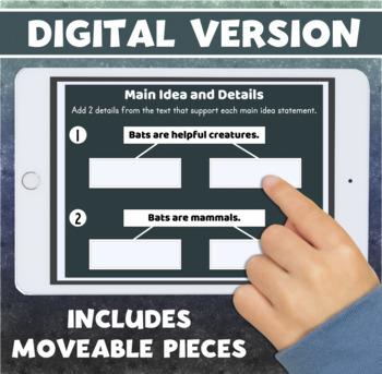 BATS Interactive Reading Comprehension Activity