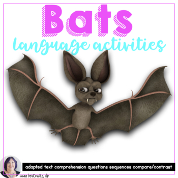 Bats Interactive Book for Informational Text for Special Education revised