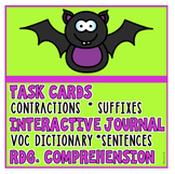 BAT Reading Comprehension Interactive Journal Task Cards