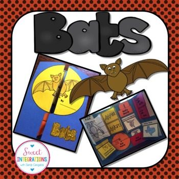 BATS - Science Interactive Lapbook Filled With Templates and Photos