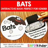 Bats Kindergarten Interactive Book