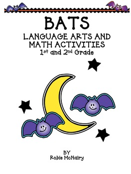 Bats Language Arts and Math Activities