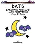 Bats Language Arts and Math Activities