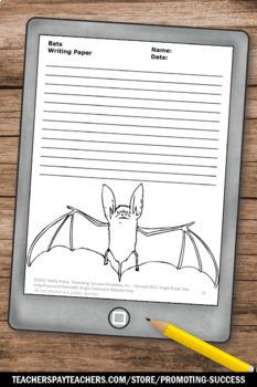 All About Bats Craftivity, Supplements Stellaluna Activities