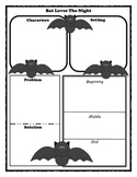Bat Loves The Night Story Map Graphic Organizer