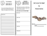 Bats Love the Night Trifold/ 3rd grade Journeys Common Core HMH