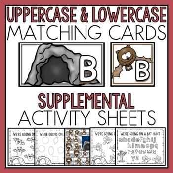 Bats Matching Activities for Toddlers, Preschool, and PreK