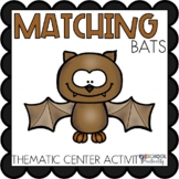 Bats Matching Activities for Toddlers, Preschool, and PreK