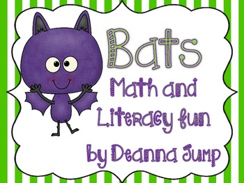 Bats Math and Literacy Fun Aligned with Common Core