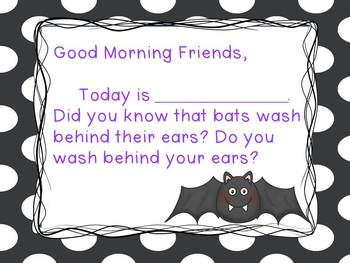 Bats- Morning Messages