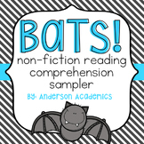 Bats! Non-Fiction Reading Passage with Glossary