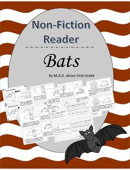 Bats Nonfiction CLOSE Reading Book