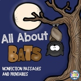Bats - Nonfiction Task Cards and Worksheets