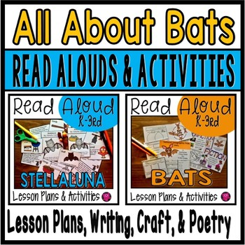 Bats Interactive Read Alouds Unit