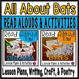 All About Bats Nonfiction Read Aloud Book Activities