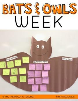 Bats & Owls Week!