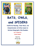 Bats, Owls and Spiders National Geographic Kids Bundle